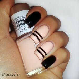 25 unique striped nail art ideas on pinterest hibiscus nail art 30 easy striped nail art for beginners with nail striping tape prinsesfo Choice Image
