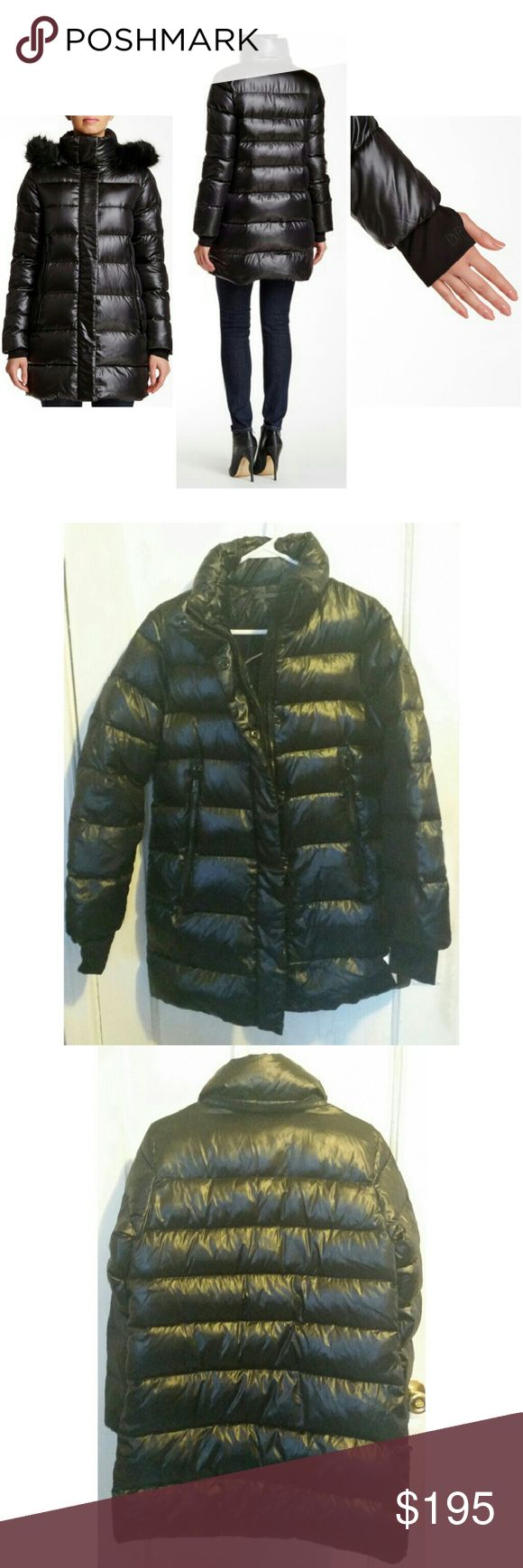 New DVF sz M puffer coat black New DVF women's puffer coat.  Size M.  Retail price $428. Comes without a houd :(  Very lightweight and warm.  Please contact for measurements if needed. Diane von Furstenberg Jackets & Coats Puffers