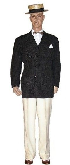 mens 20's clothing - Google Search