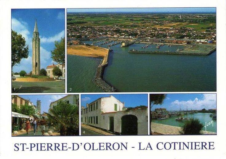 Carte postale de Saint Pierre d'Oléron - La Cotinière.