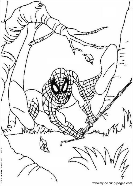 coloring pages of blanket spiderman colouring pictures