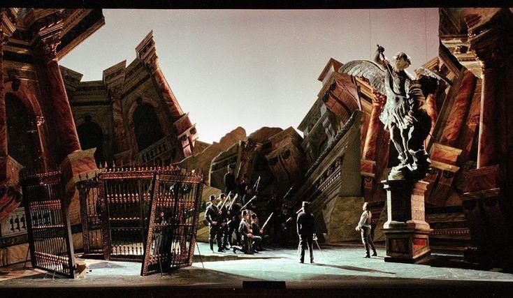 "Teatro alla Scala on Instagram: ""Tosca opera sperimentale ..."