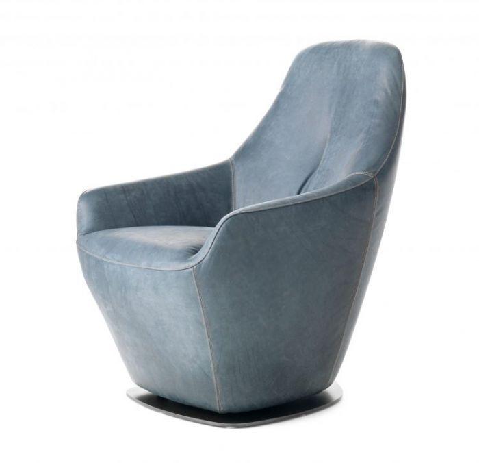 Cantate Fauteuil Leer Leolux Slijkhuis Interieur Design With Sessel  Parabolica