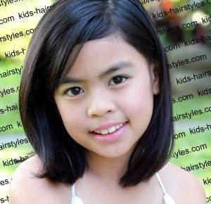 Medium Hairstyles For Girls With Straight Hair http://www.latest-hairstyles.com/kids/girls/medium-straight.html