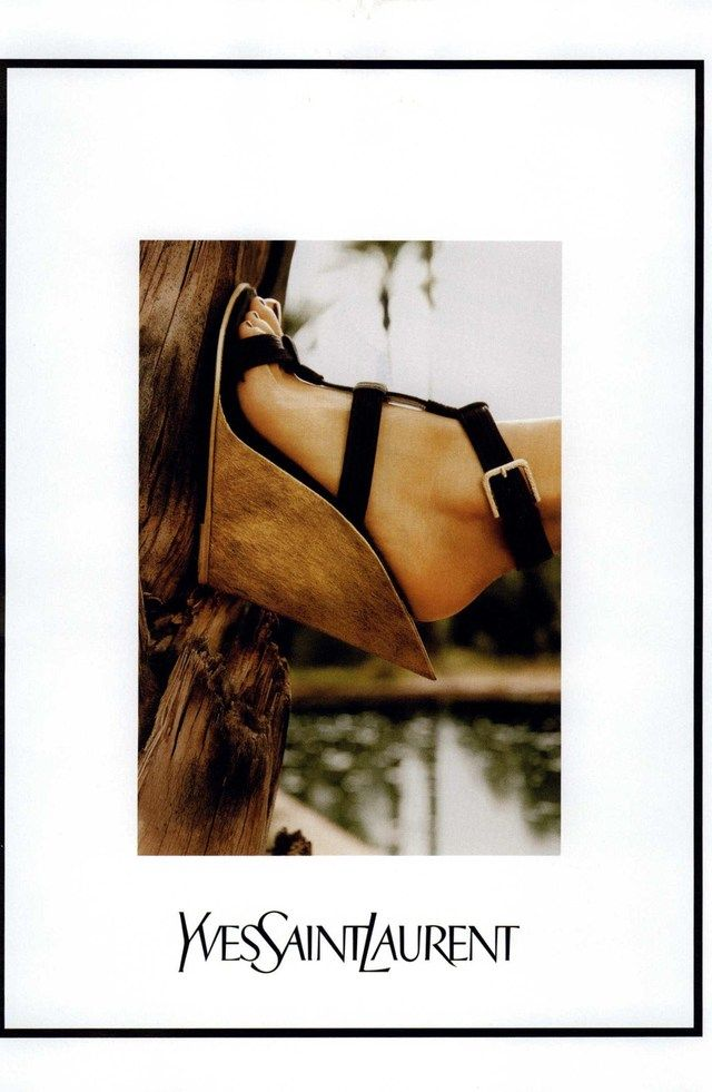Yves Saint Laurent Ad Campaign Spring/Summer 2011