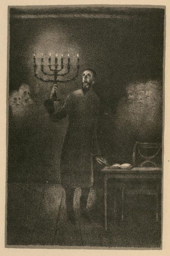 Hugo Steiner Prag S 1916 Illustrations For Gustav Meyrink