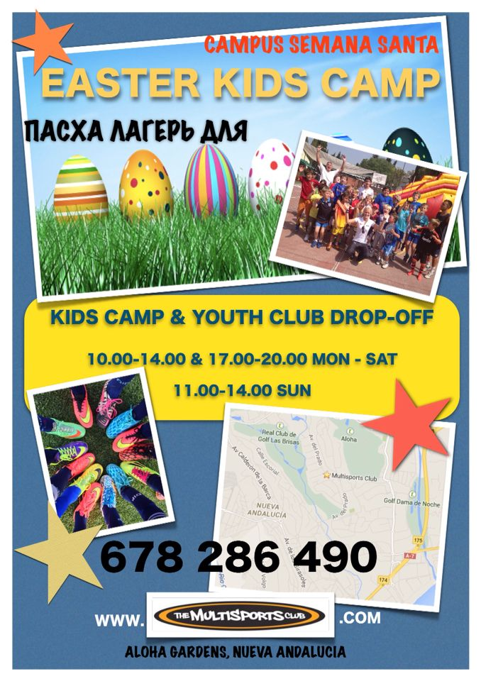 KIDS EASTER CAMP IN SPAIN!! Thanks to Pinterest we have finally constructed our brand new woodland playground!! Keep on pinning!!