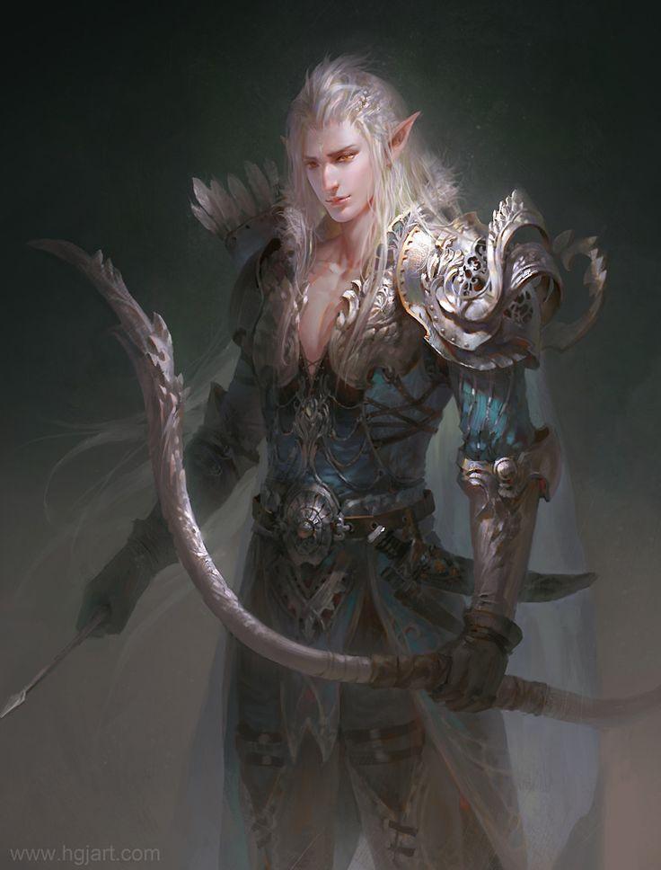 Картинка эльфы воины
