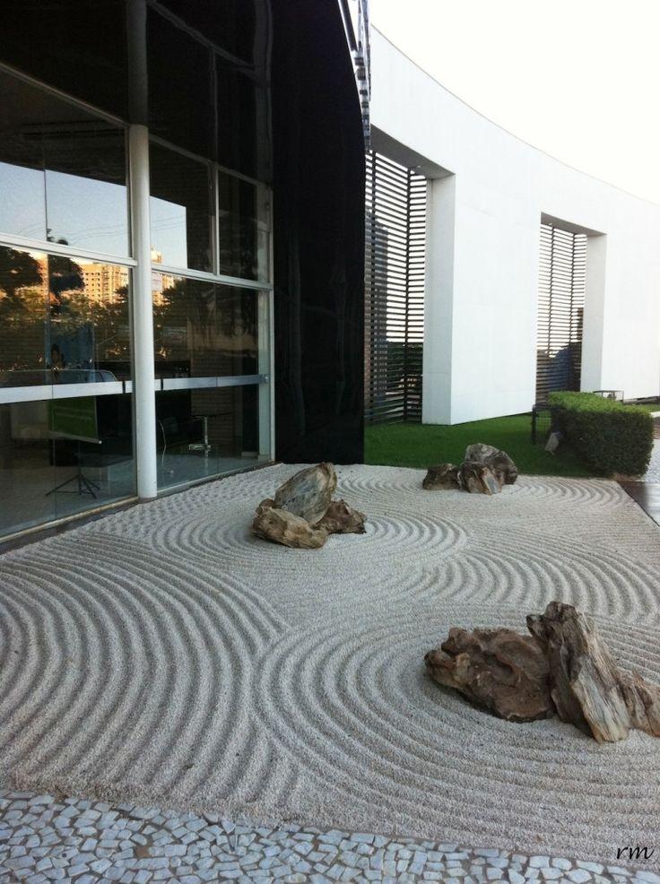 Arte22 Jardim Zen  Arquitectura y Decoración  Pinterest  Zen