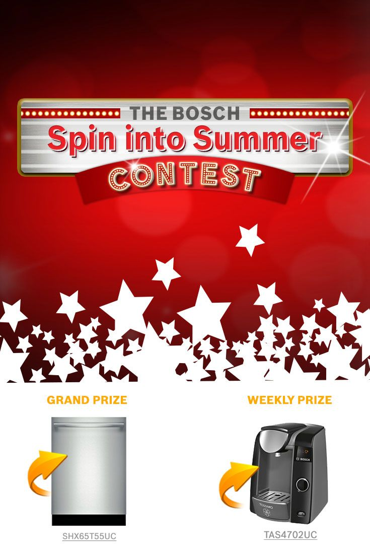 I just entered The Bosch Spin into Summer Contest!