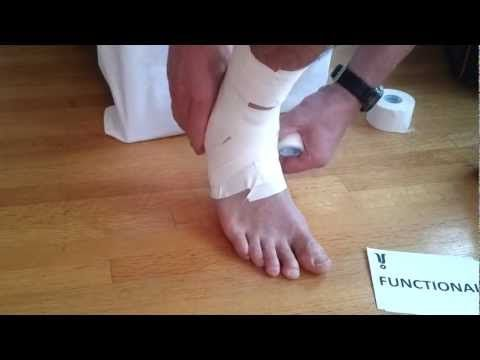 Ankle Taping | Tape Your Own Ankle (COMPLETE)