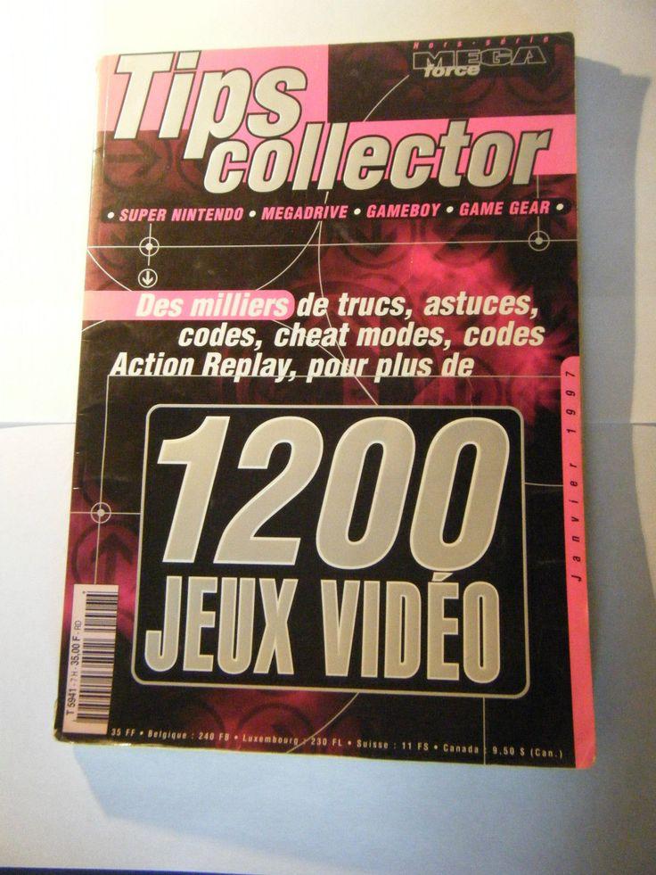 Tips Collector Hors Série Mega Force 1200 Jeux Vidéos 1997 Occasion | eBay