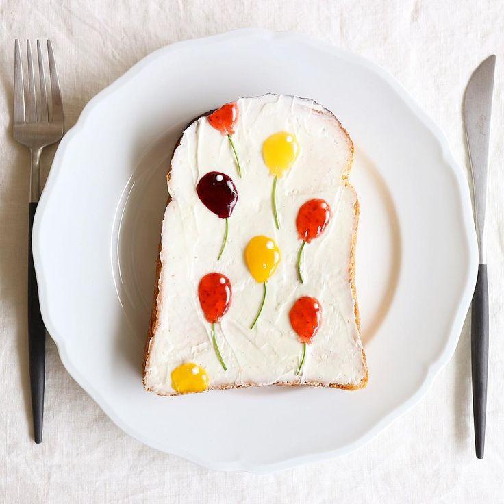 パン1枚のアート!「柄トースト」のリアルなミニチュア感に思わず二度見♩ - macaroni