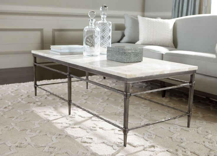 Buy Ethan Allen's Vida Stone-Top Coffee Table or browse other products in Coffee  Tables.