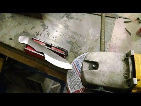 Download video: Angle Grinder Jig for knife making
