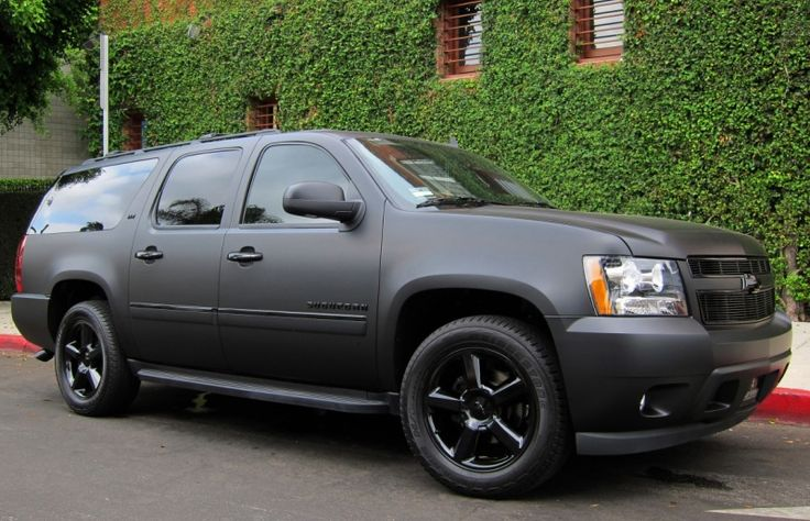 matte black suburban - Google Search | Projects to Try ...