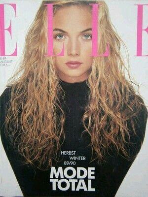 Rachel Williams - Elle Germany Aug 1989