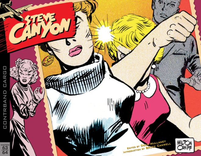 Steve Canyon Vol 9 1963 1964 Comics Milton Caniff American Comics