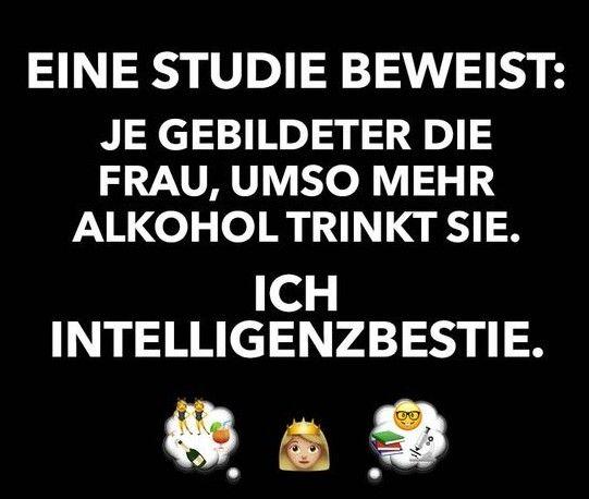 Ich bin eine Intelligenzbestie