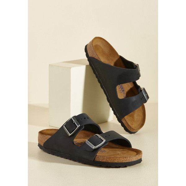 Birkenstock Strappy Camper Sandal ($135) ❤ liked on Polyvore featuring shoes, sandals, no-thong slide, slide, varies, leather strap sandals, black leather sandals, monk-strap shoes, black sandals and black hiking boots