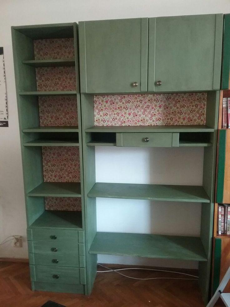 Bookcase redone