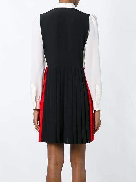 Sonia Rykiel платье-рубашка дизайна колор-блок