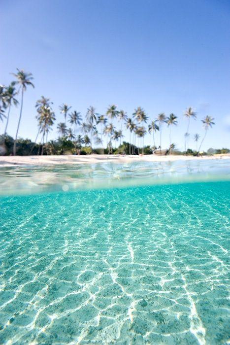 Turquoise Beach in Moorea, Tahiti
