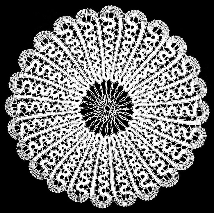 Lepoglava lace is a closely worked bobbin lace, with its structure consisting of a combination of stylized geometric, floral, and animal motifs and patterns. A flax or cotton thread is used, always in the color white, and comes in various shapes and sizes.