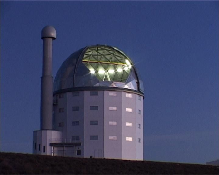 SALT was inaugurated in November 2005. It is the largest single optical telescope in the Southern Hemisphere, with a hexagonal mirror array 11 meters across. SALT shares similarities with the Hobby-Eberly Telescope (HET) in Texas. The Southern African Large Telescope gathers twenty-five times as much light as any other existing African Telescope.[26] With this larger mirror array, SALT can record distant stars, galaxies and quasars.