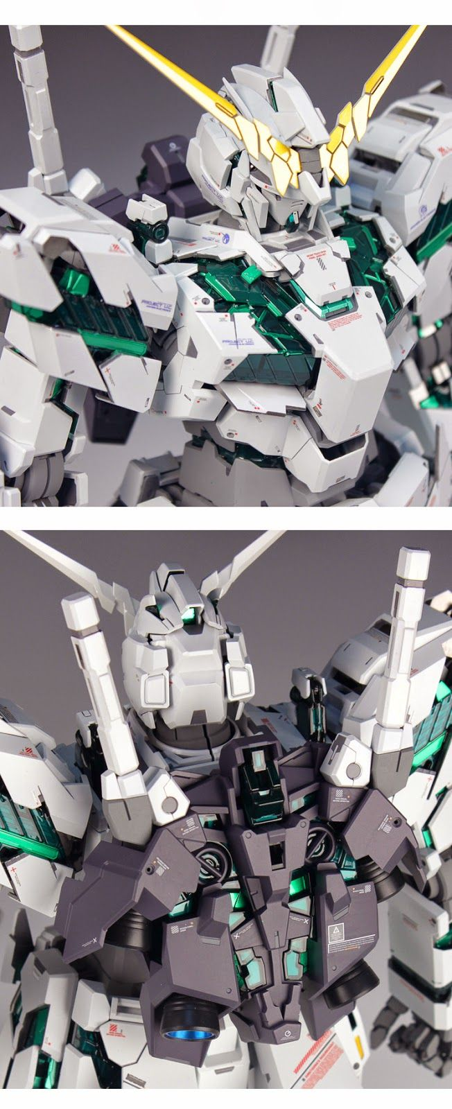 PG 1/60 Unicorn Gundam - Customized Build PG 1/60 RX-0 Unicorn Gundam (Release Date: Dec 11th 2014, Price: 21600 Yen) GG INFINITE: OR...