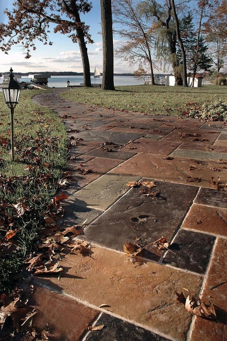 84 best outdoor flooring concrete stone images on pinterest