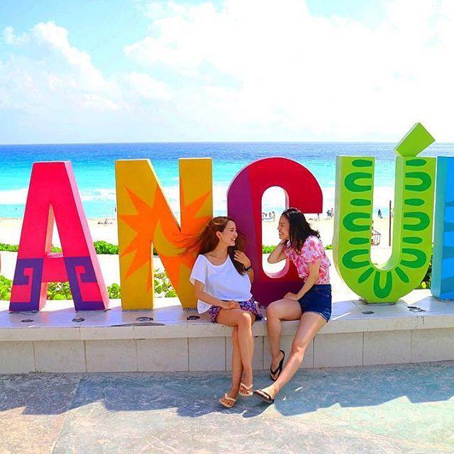 【kappe27】さんのInstagramをピンしています。 《Cancún🐬🌴💜 とにかく強風でした😂笑 . #cancun#mexico#カンクン#メキシコ #beach#海#sea#blue#bluesky#女子旅 #タビジョ#genic_mag#海外旅行#trip #travel#love#カメラ女子#camera #canon#photo#instagram#instagood #instalike#friend#bestie#happy#🇲🇽》