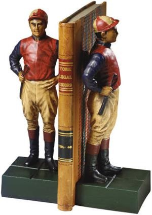 Jockey Bookends: Decor Bookends, Guest Rooms Decor, Pairings, Jockey Bookends W, Equestrian Stuff, Jockey Bookends Fre, Equestrian Style, Luxury Home, Equestrian Decor