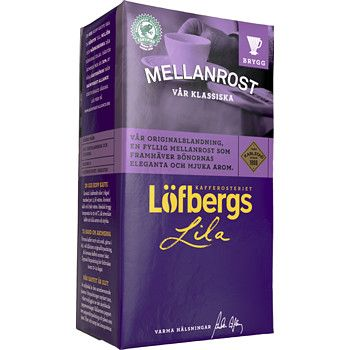 Mellanrost Bryggkaffe 500g Löfbergs