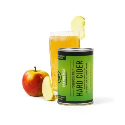 Fresh apple juice is fermented at room temperature and turns into a refreshing hard apple cider. This probiotic beverage has a kick and isn't for the kids!
