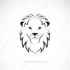 תוצאת תמונה עבור SIMPLE LION TATTOO