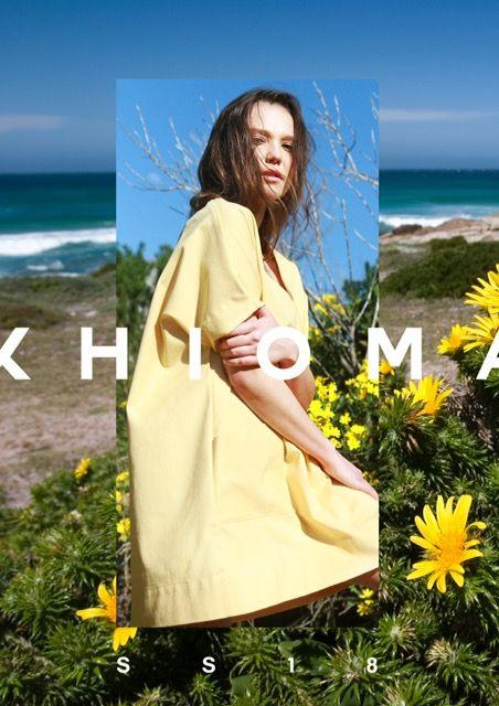 K H I O M A  SS18 Campaign | SA Fashion | Cape Town Fashion Shop online