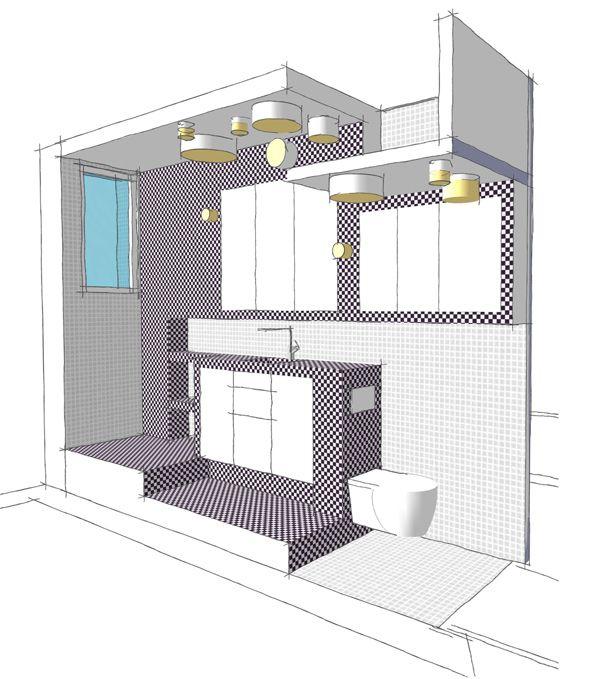 11++ Salle de bain couloir plan ideas