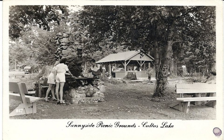 Old photo of Cultus Lake