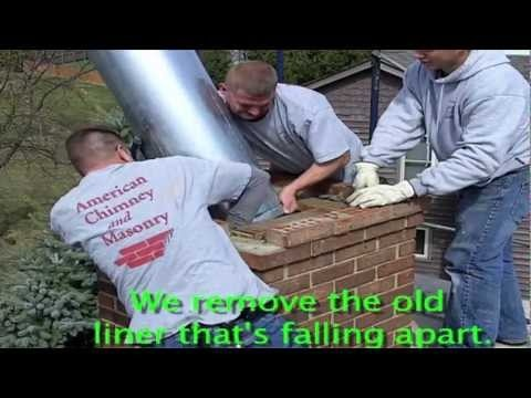 Prefab Fireplace Insert Replacement - Step by step video from Ask The Chimney Sweeps  http://askthechimneysweep.com