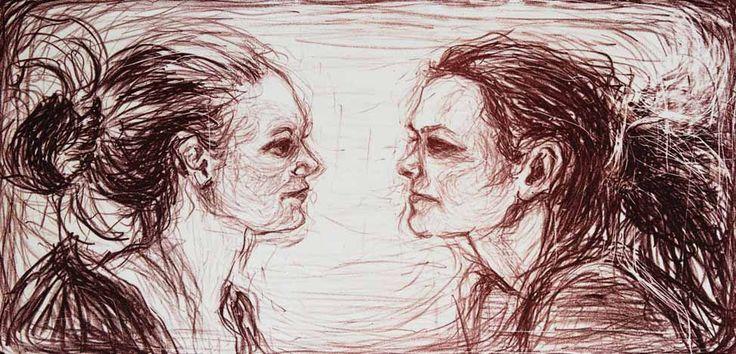 Beautiful artwork from the norwegian contemporary artist Merethe Duvholt. To see more and order, go to http://artbyhand.no/butikk/billedkunst/merethe-duvholt