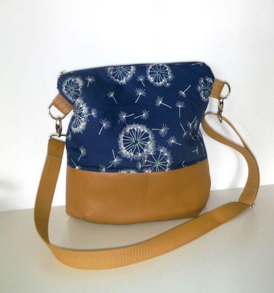 Schultertaschen - Beuteltasche Pusteblume - ein Designerstück von KiS-Ma bei DaWanda