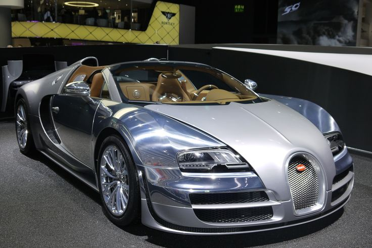 Bugatti Veyron Silver disfrutar  iestar contodo