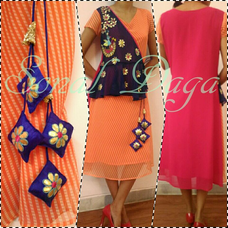 #fashion #leheriya #kurti