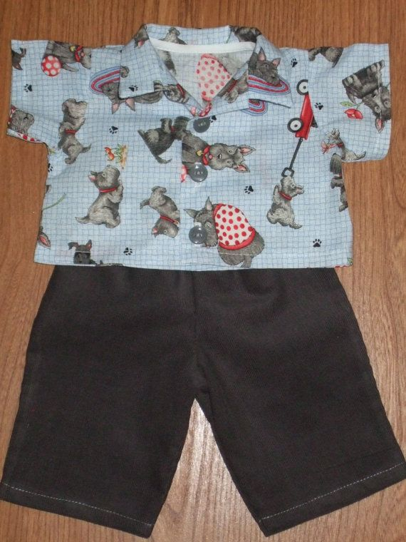 NEW For Cabbage Patch Kids Boy Doll Clothes 16 Dog
