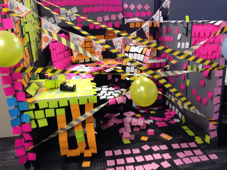 Birthday Cubicle Decorations Work Resume Pinterest