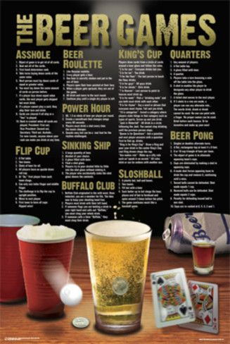Beer Games Poster at AllPosters.com
