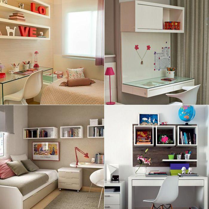Decoração: nichos no seu quarto