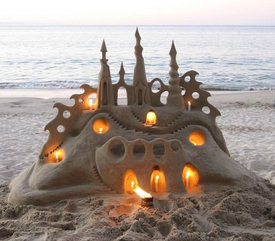 Most Amazing: 25+ Best Ideas About Beach Sand Castles On Pinterest