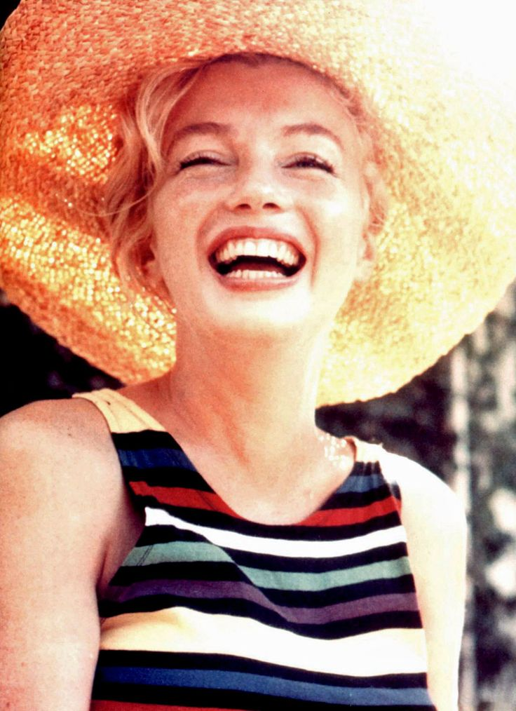 Laughing Marilyn.